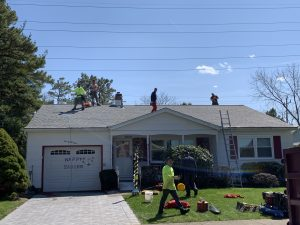New Roof at Westbrook Drive in Toms River