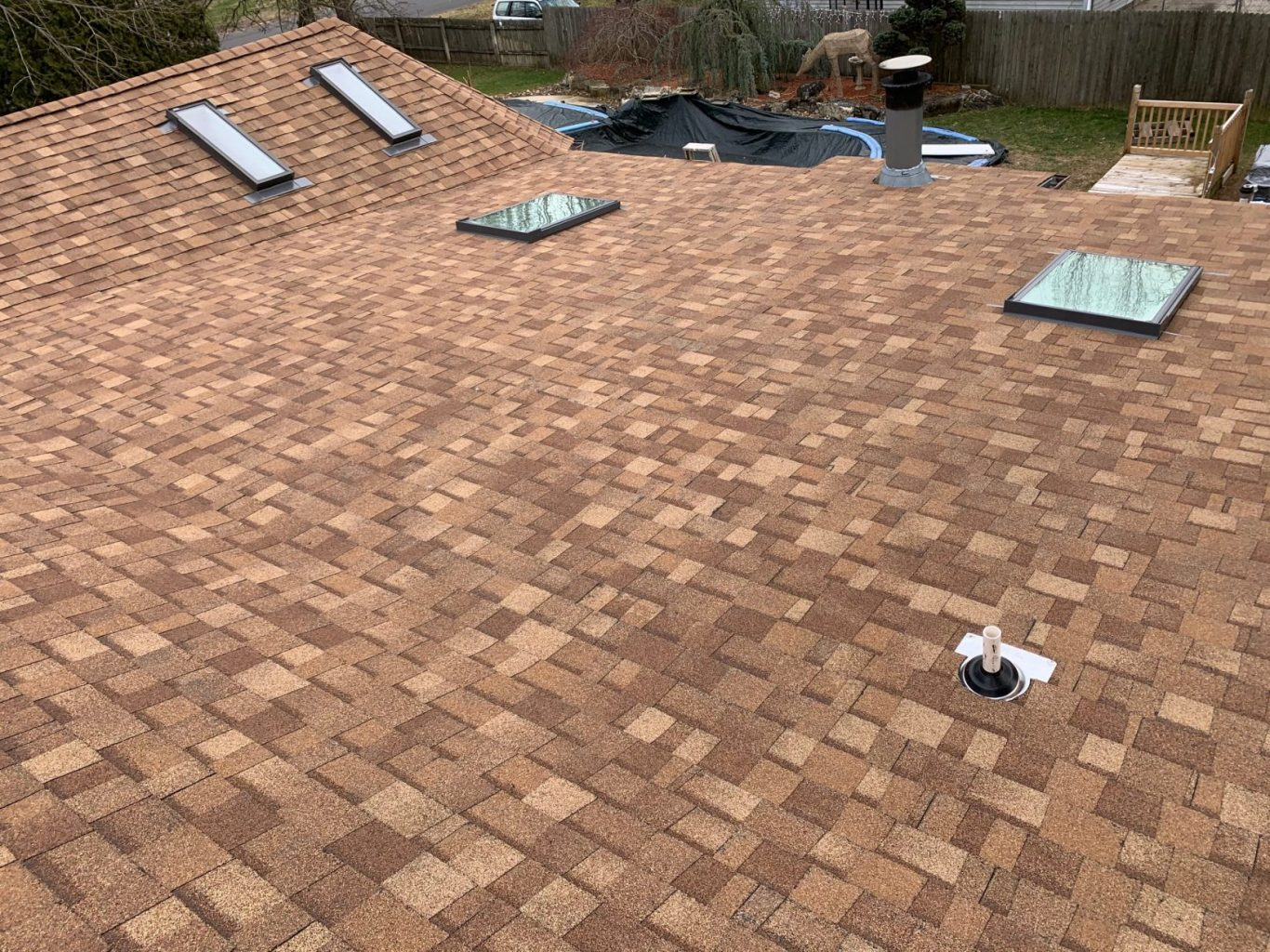 roof replacement in Browns Mills